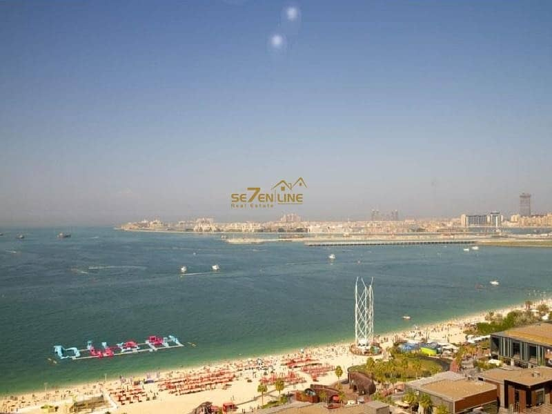 13 Vacant  3BR plus Maids Room  Full Sea View Furnished