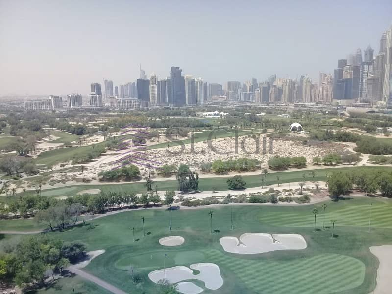 Spacious 1BR w/ balcony + Study | Full Golf View
