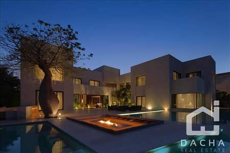 7 Bedroom Villa for Sale in Emirates Hills, Dubai - Contemporary mansion / Incredible views