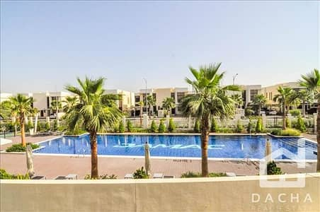 4 Bedroom Villa for Sale in DAMAC Hills (Akoya by DAMAC), Dubai - Exclusive TH-H / Pool view / Amazing price