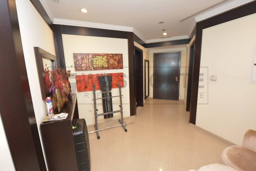 10 2BR + Storage | Fully furnished | Sea View