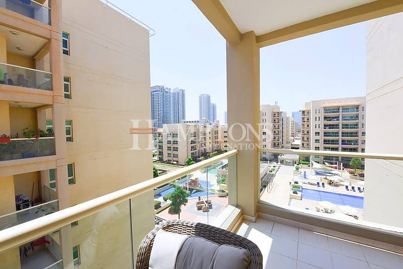 12 2BR Aprt | The Greens with Nice View | Vacant