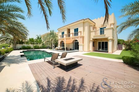 فیلا 5 غرفة نوم للايجار في مدينة دبي الرياضية، دبي - 5 Beds | B Type | Pool | Golf Course View