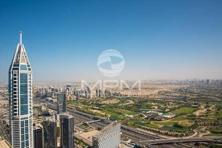 فلیٹ 3 غرفة نوم للايجار في دبي مارينا، دبي - Furnished 3 Bedroom Penthouse with Stunning Panoramic Views Around
