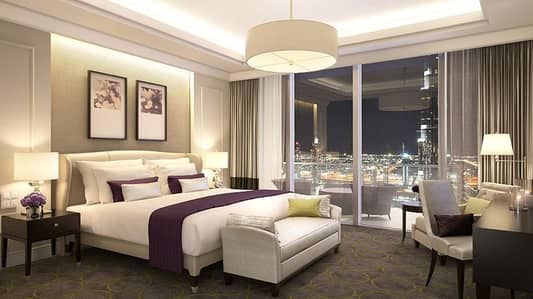 1 Bedroom Flat for Sale in Downtown Dubai, Dubai - 1br In The Address Boulevard  with Sea View