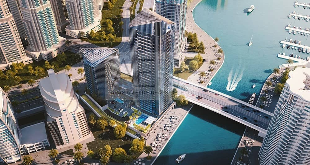 10 Full Marina View | One the Best One Beds in the Tower