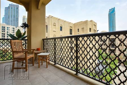 1 Bedroom Flat for Rent in Old Town, Dubai - New To Market   Furnished or Unfurnished 1 bed 2 bath   Zaafaran
