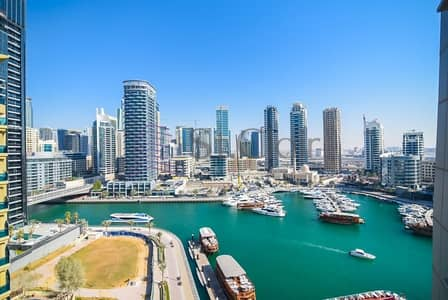 3 Bedroom Apartment for Sale in Dubai Marina, Dubai - Lowest 3 Beds w/ Balcony | Marina View | Mid Floor
