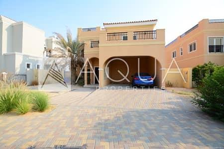 5 Bedroom Villa for Sale in The Villa, Dubai - 5 BR A 1 Mazaya Type villa Pool n Garden