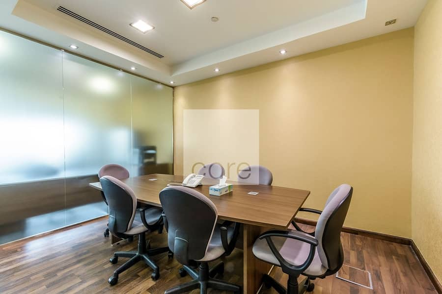 2 High floor fitted and furnished office