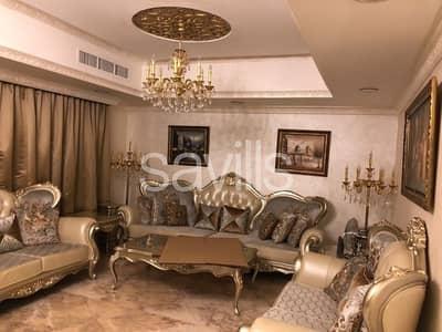 فیلا 5 غرفة نوم للبيع في مويلح، الشارقة - Corner fully furnished and upgraded villa