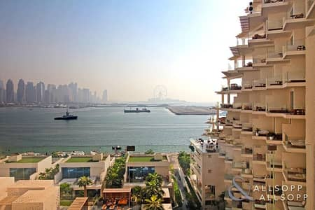 2 Bedroom Apartment for Sale in Palm Jumeirah, Dubai - High Floor | Full Sea View | Two Bedrooms