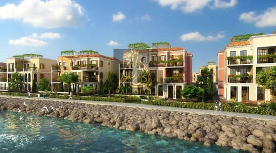 3 Bedroom Townhouse for Sale in Jumeirah, Dubai - Stunning Sea Views | Elegant 3BR Townhouse for sale in Port De La Mer | Easy Payment Plan | 10% Booking Fee