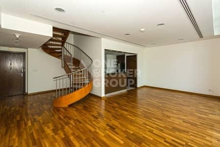 شقة 2 غرفة نوم للايجار في مركز دبي المالي العالمي، دبي - FULL SEA VIEW | 2BR DUPLEX | Best Layout