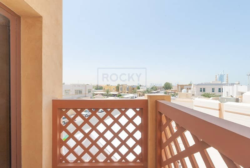 1 2 B/R with Balcony Apartment Near Jumeirah Beach Road | Umm Suqeim 2