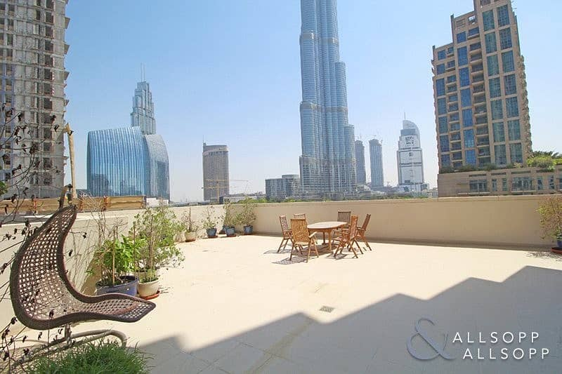 2 Vacant Three Bed | Terrace | Burj View<BR/>