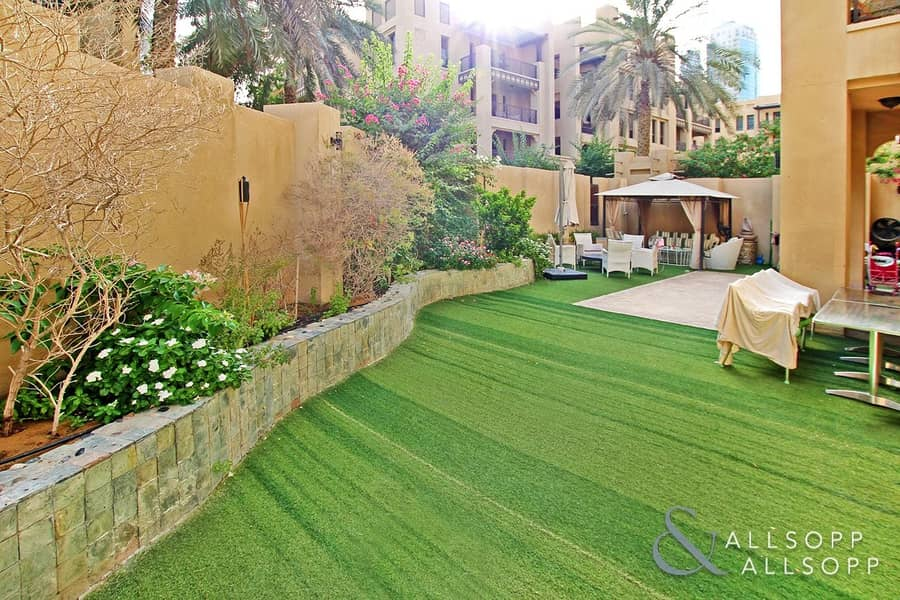 Three Bedrooms | Garden Apartment | VOT