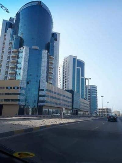 Studio for Rent in Al Bustan, Ajman - HUGE STUDIO WITH PARKING FREE AND FLOOR HIGH