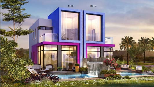 3 Bedroom Villa for Sale in Akoya Oxygen, Dubai - 10 years free service charge+2% discount