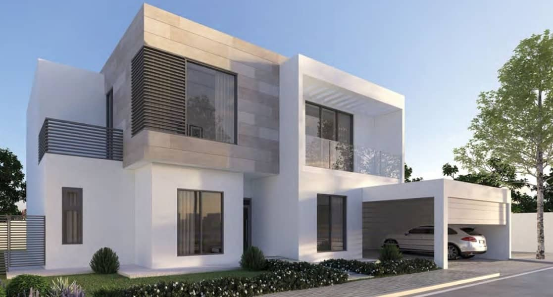 2 Luxury villa in Sharjah WITHOUT any service charges FOREVER-2bed room