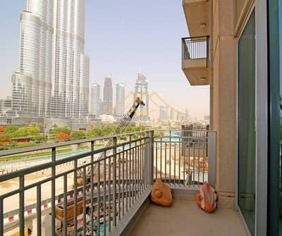 شقة 2 غرفة نوم للبيع في وسط مدينة دبي، دبي - Full Burj Khalifa view Furnished 2 BR Standpoint B
