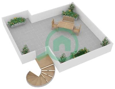 زايا هاميني - 2 غرفة فلل اكتب A, A1, A2, A3 مخطط الطابق