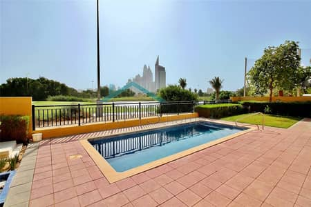 4 Bedroom Villa for Rent in Emirates Golf Club, Dubai - Full Golf Course View - Immaculate Condition