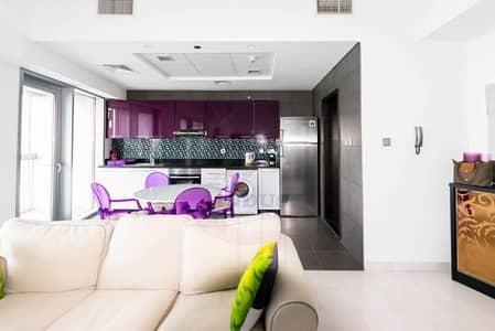 1 Bedroom Flat for Rent in Dubai Marina, Dubai - High Floor 1BHK Furnished Apartment Dewa Included