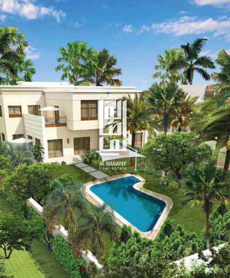 11 Ready to move ! amazing villa in sharja with 30% only
