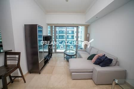 1 Bedroom Flat for Sale in Dubai Marina, Dubai - Jewels Tower Fully Furnished with Two Balconies
