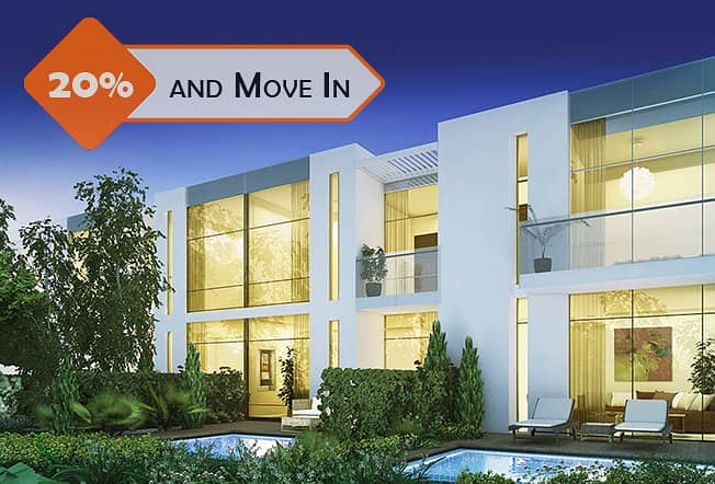 Ramadan offer! Authentic villa Ready to move in with 2 years post-handover