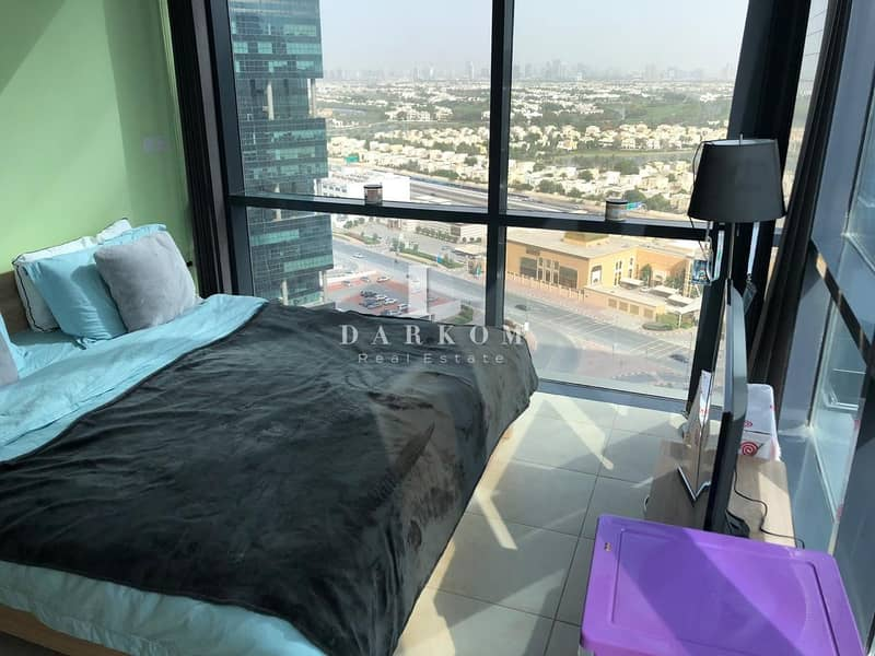 Exclusive | Semi Furnished 2BR in Goldcrest Views 1