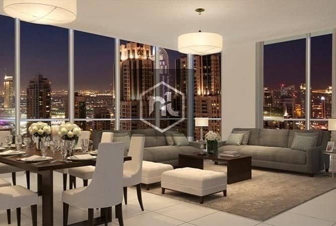 Buy 3BR Apartment in Downtown from EMAAR