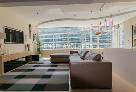 2 Bedroom Flat for Rent in Dubai Marina, Dubai - Upgraded Apartment | Furnished | Spacious