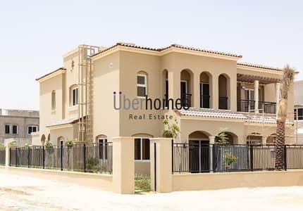 3 Bedroom Villa for Sale in Serena, Dubai - Single row villa and largest plot in Serena