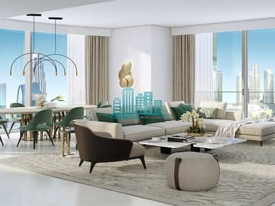 4 Bedroom Apartment for Sale in Downtown Dubai, Dubai - On High Floor