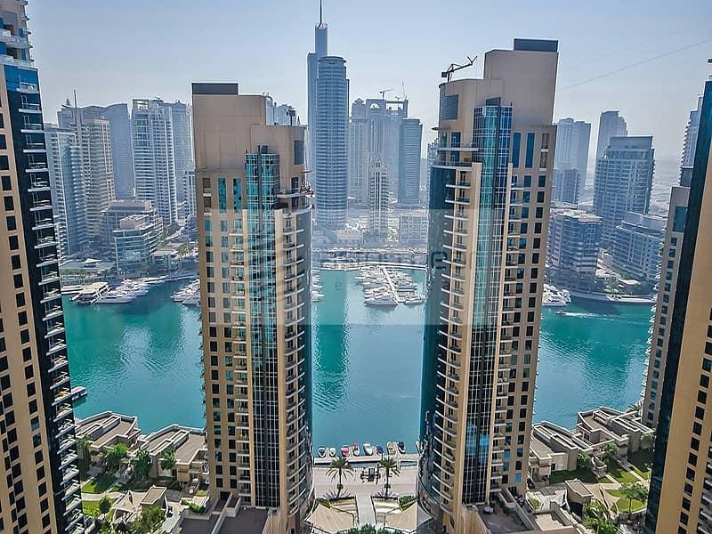 2 Unique 2BR | Big Windows with Marina View | RIMAL