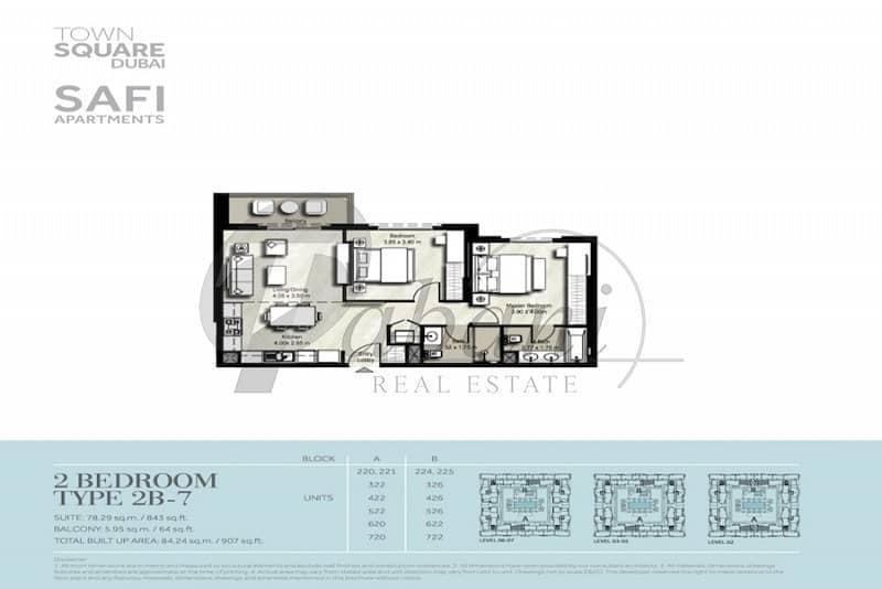 11 Brand New Pool Facing Beautiful 2 Bedrooms