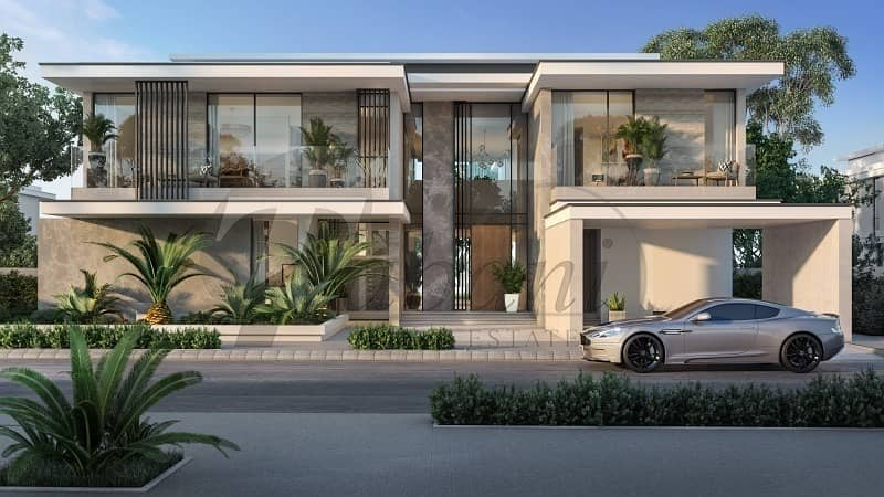 2 Arabic and Modern Villas Within Golf Course