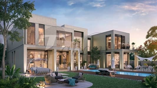 Arabic and Modern Villas Within Golf Course