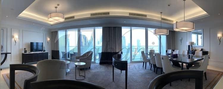 فلیٹ 4 غرفة نوم للبيع في وسط مدينة دبي، دبي - Best Floorplan Panoramic Views Furnished