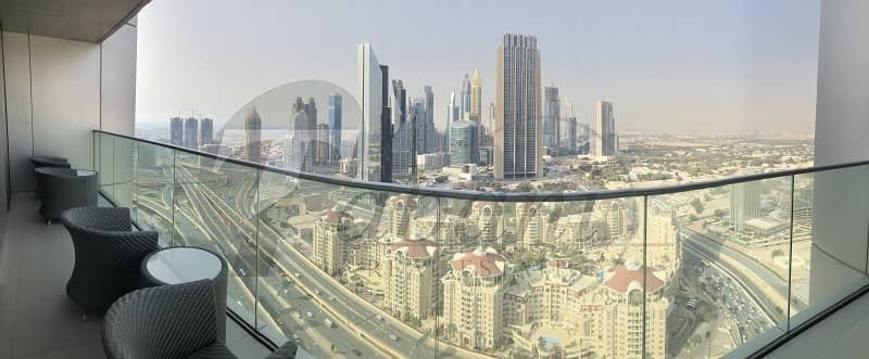 2 Best Floorplan Panoramic Views Furnished