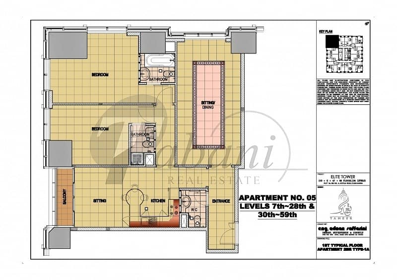 11 2 bedrooms with Ensuite baths