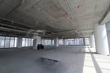 مکتب  للايجار في مدينة ميدان، دبي - PANORAMIC VIEW/ HALF FLOOR/METROPOLIS TOWER/RARE UNIT