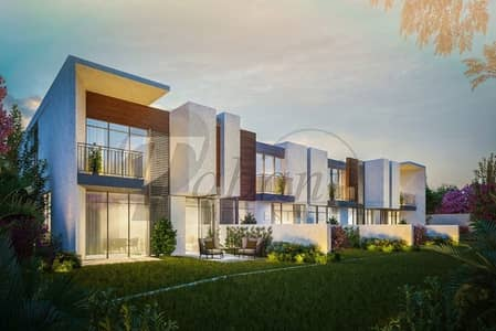 3 Bedroom Townhouse for Sale in Dubailand, Dubai - Corner 3 Bed + Maids Townhouse by Meraas