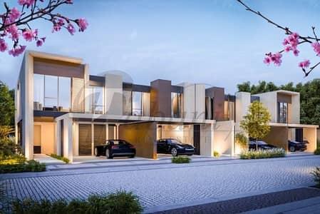 تاون هاوس 3 غرف نوم للبيع في دبي لاند، دبي - Luxury 3BR 0.83% after handover for 5yrs
