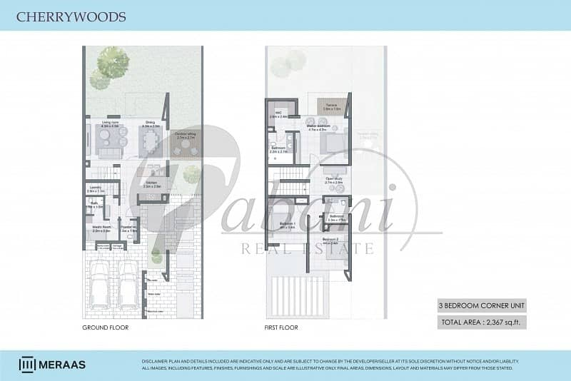 12 Spacious 4BR Corner Booking with 5% only