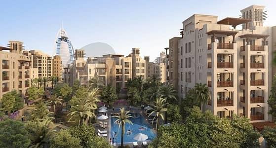 4 Bedroom Apartment for Sale in Umm Suqeim, Dubai - Premium 4 Beds With Burj Al Arab Facing
