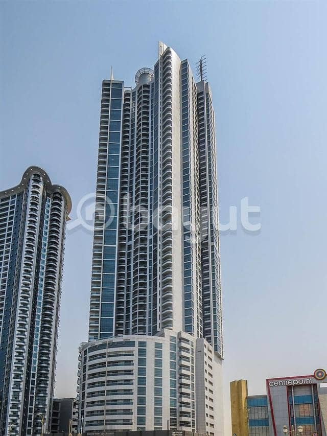 Urgent Distress Sale Big 2 Bhk Apartment with Partial C view for Sale  in Cornich Tower for 650000
