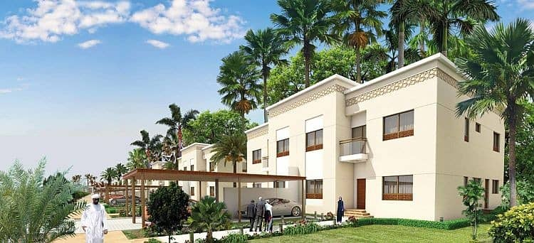 For lovers of spacious spaces owned villa ready 10000 feet